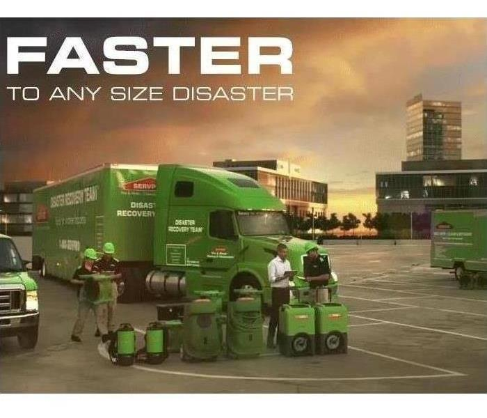fleet with faster to any size disaster