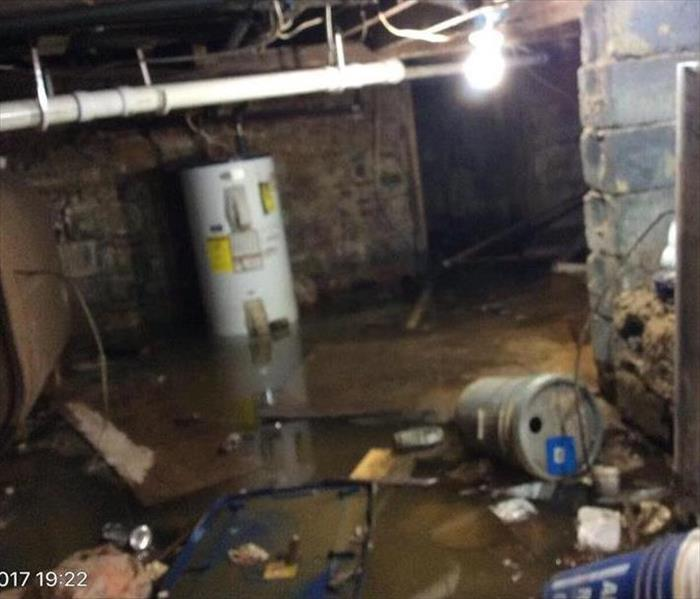 Flooded Basement In Commercial Property: SERVPRO Of Lansdale, Warminster And Blue Bell