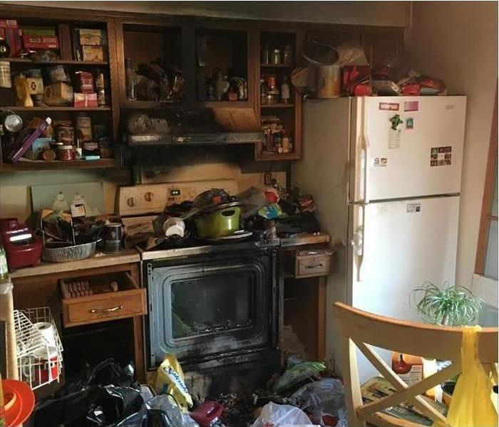 Hoarded Kitchen Post fire
